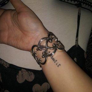 Intricate Silver Bracelet